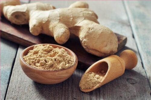 Grinded ginger