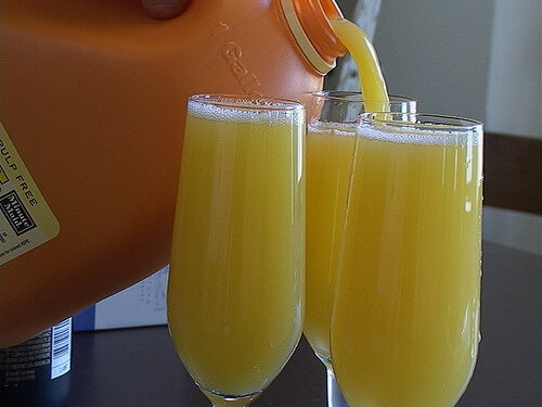 Orange juice is an excellent source of vitamin C