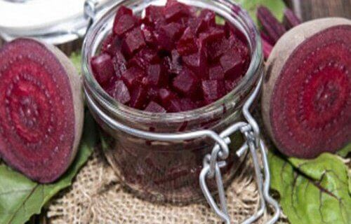 Diced beets to help loose weight