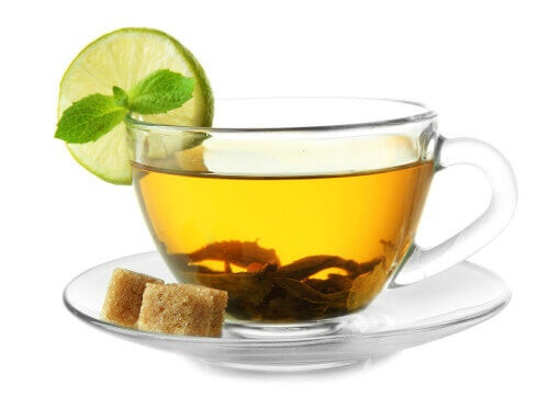 green tea to care for your liver