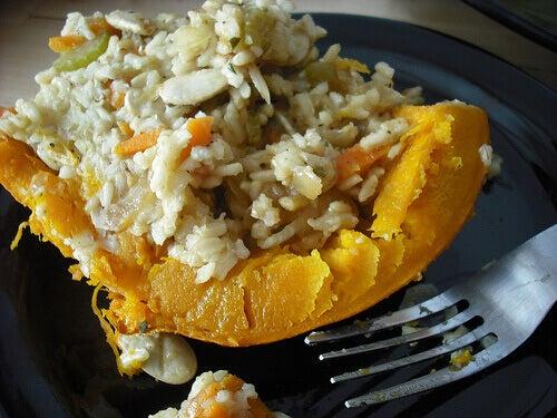 Stuffed grilled pumpkin recipes