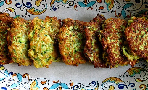 Recipie for zucchini patties