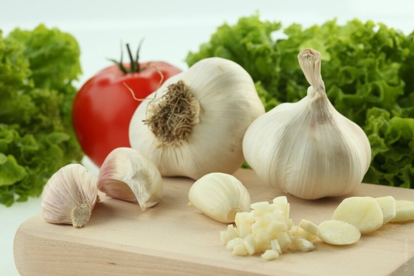 Garlic consumption