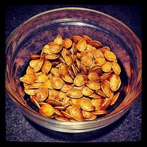 Pumpkin seeds are perfect appetisers