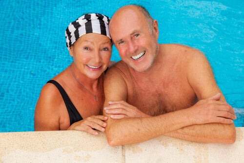 Swimming helps improve arm and leg circulation