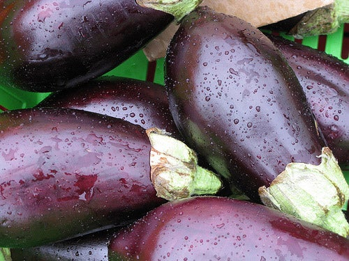 lose weight with Eggplants