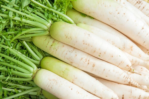 white radish for hemorrhoids