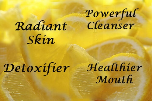 Lemon juice possible benefits.