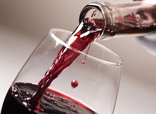 Drink wine Resveratrol
