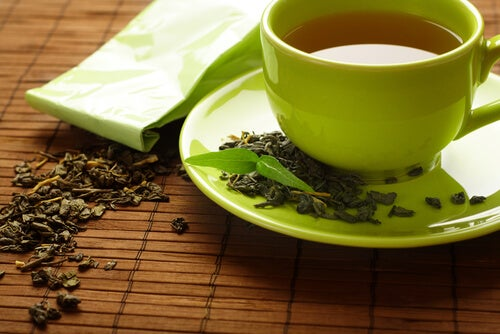 green-tea not gain weight from stress