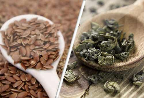 Linseed and Green Tea, Allies Against Cancer?