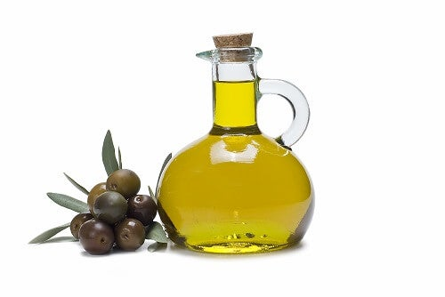 Olive oil can be used right out of the container for remedies with olive oil