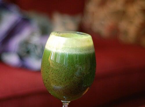parsley-juice