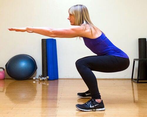 간단한 다리 근력 운동