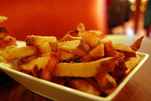 French fries are part of the foods that cause the most weight gain
