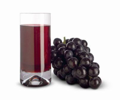 Eating grapes every day can be good even if its just a glass of grape juice