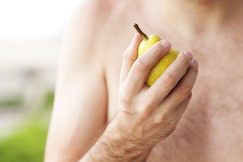 Pear heart