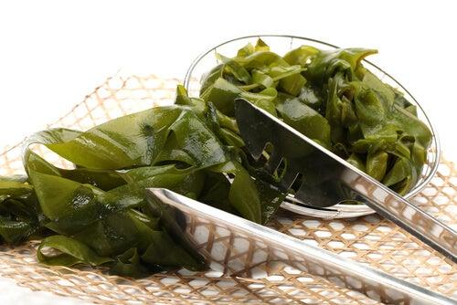 Algae salad