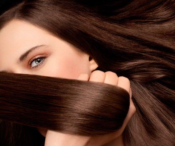 Soften hair using natural bath oils