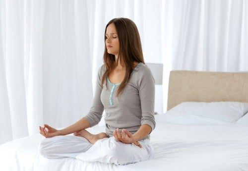 doing meditation to remove negative energy from your home