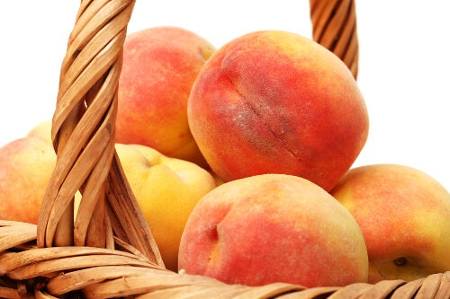 Peaches are good fruits for gastritis