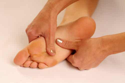 Pain Treatment for the Soles of the Feet