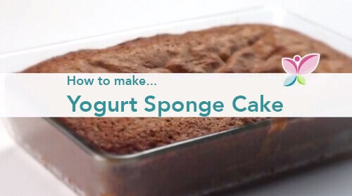 How to Make a Yogurt Sponge Cake
