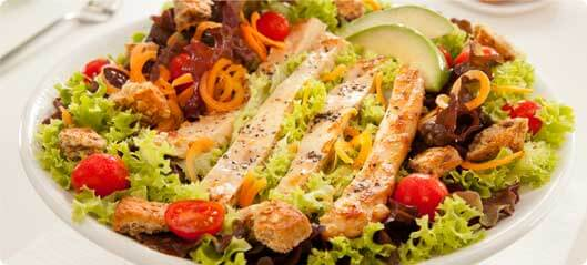 Linseed salad