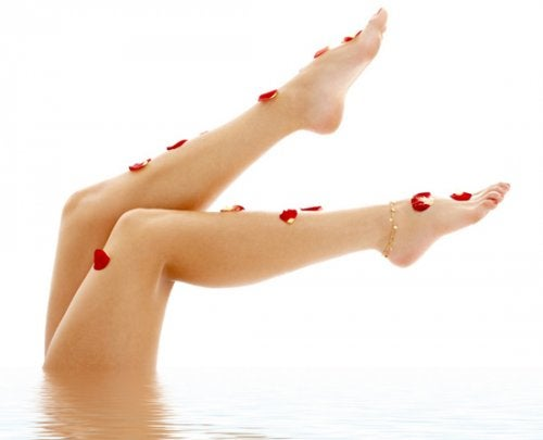 legs without varicose veins