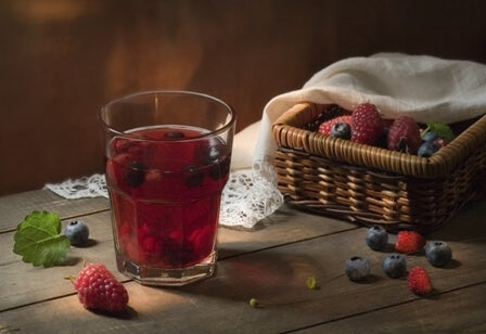 blueberry infusion