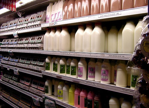 Drinking dairy can be one of the habits that damage your intestines