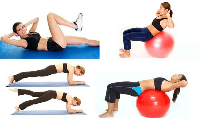 Exercises to get rid of flab