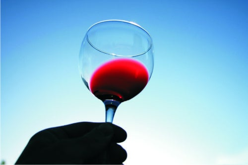 Red wine is one of the best natural drinks for women