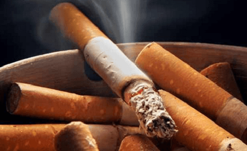 A plan to stop smoking.