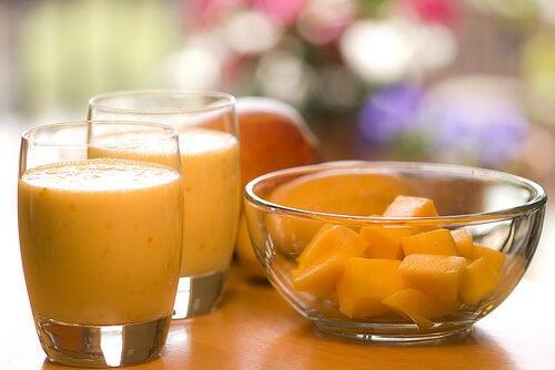 2 orange smoothie