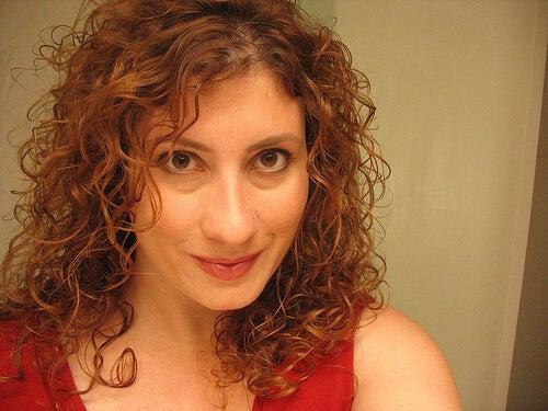 4 curly hair