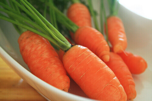 Carrots used in remedies for warts