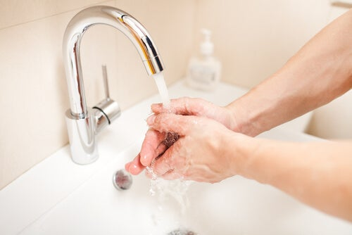 Washing your hands is an important step in cooking