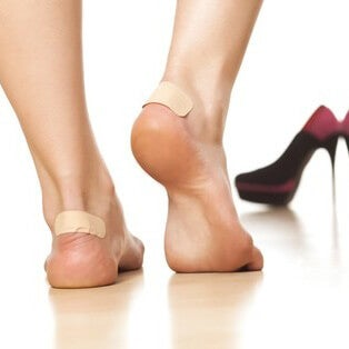 Treat calluses naturally by using appropriate footwear.