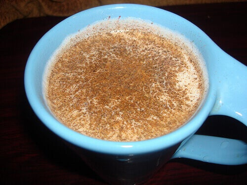 Nutmeg and milk mixture get rid of acne scars