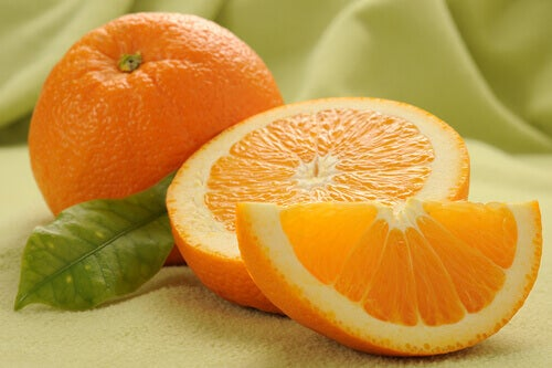 Oranges used in remedies for warts