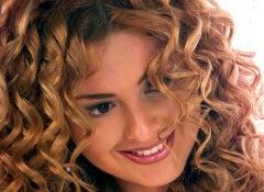 1 curly hair