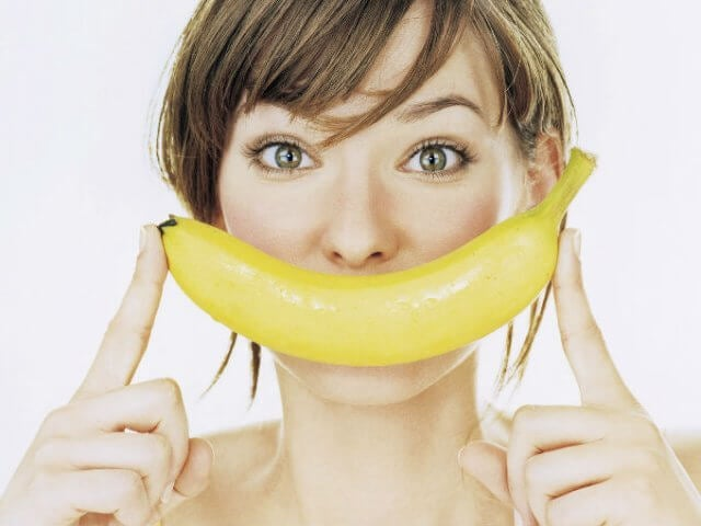 Bananas can give you lots of energy.