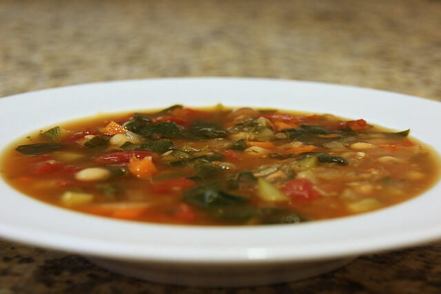 2 vegetable soup