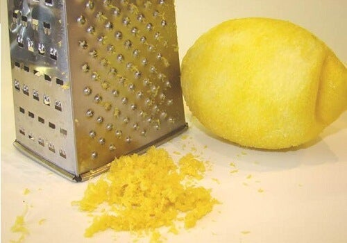 4 lemon rind