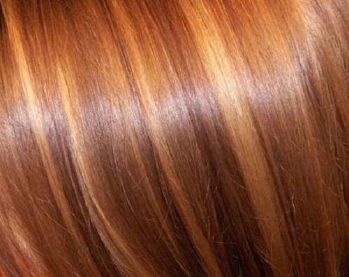 Lightening hair
