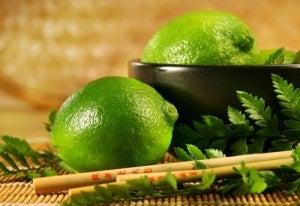 Lime leaf tea