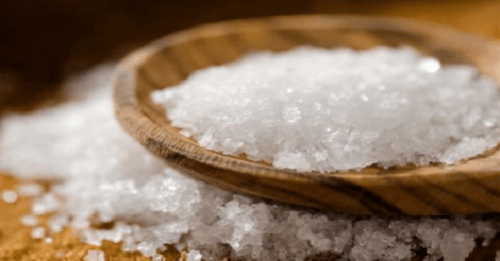 salt is one of the best natural products to clean your oven