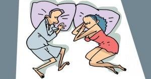 Way to sleep as a couple 2