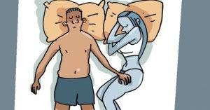 Way to sleep as a couple 7